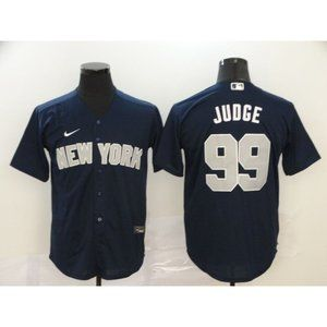 New York Yankees Aaron Judge Navy Game Jersey